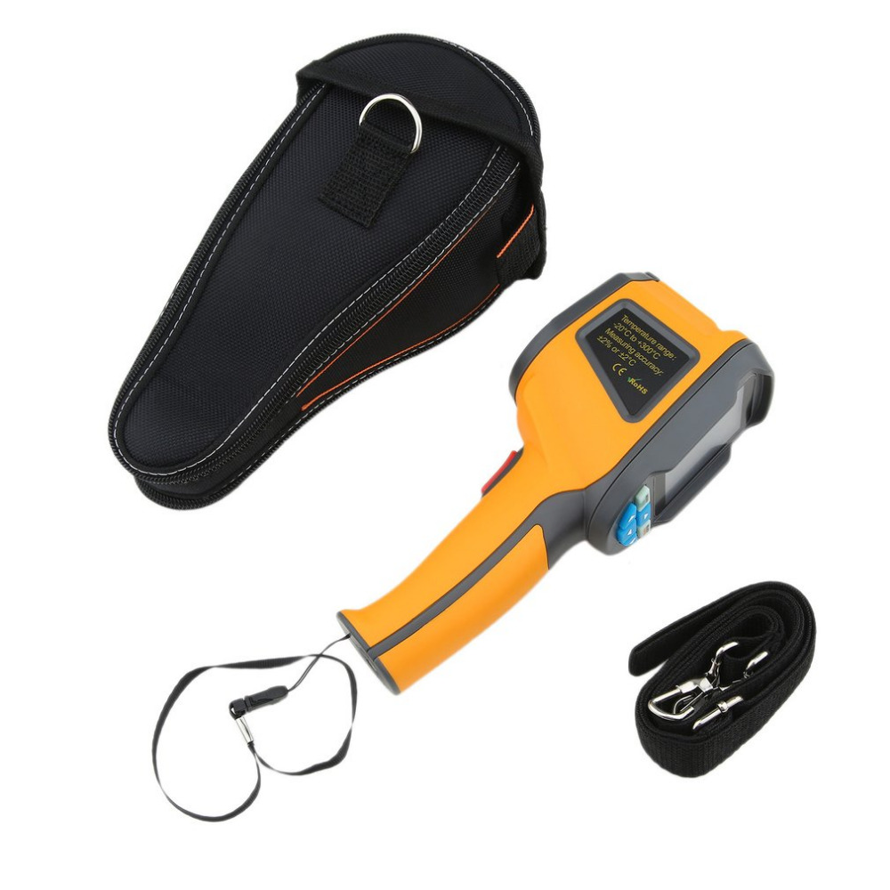 HT-02D Handheld Thermal Imaging Camera With 2 inch Colorful Screen LCD 12