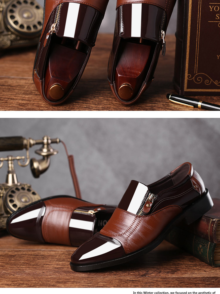 Luxury Business Oxford Leather Shoes 21