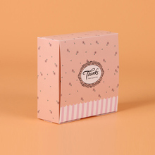 100 pcs gift paper box for wedding Party Thanks kraft Paper cake food packaging sweety candy cookies supplier