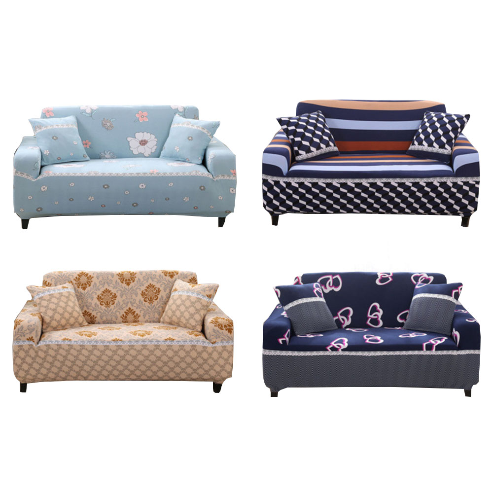 armchair sofa cover for living room slipcovers cheap spandex stretch ...