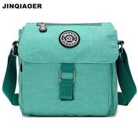 JINQIAOER Women Anti Theft Small Travel Shoulder Messenger Bag Waterproof Nylon Female Crossbody Bag Satchels Handbag