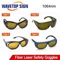 1064nm защитные очки от лазера 190-420  850-1300nm защита OD4 + CE T5 серии для YAG DPSS с волоконным лазером