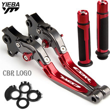 цена на NEW Motorcycle FOR HONDA CBR600 F3 1995 1996 1997 1998 motorbike Accessories Folding Brake Clutch Levers Handlebar handle grips
