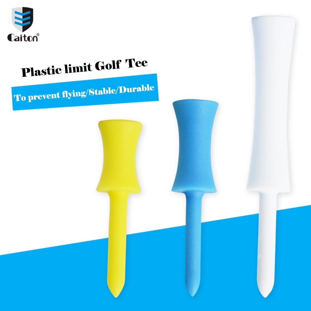 Caiton 35Pcs/Pack plastic limit Golf Tees Multi-color different sizes 76mm 54mm 48mm