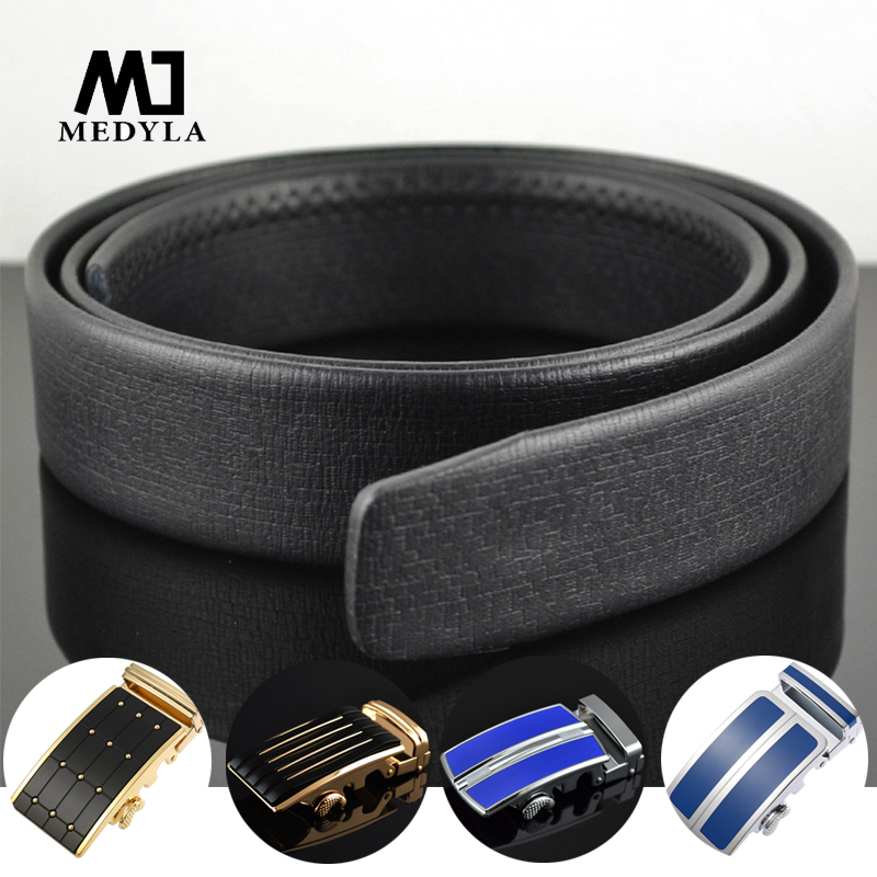 DIY Assembled Genuine Leather Man's Belt High Quality Natural Leather Belt Without Buckle Business Belt Suitable For Men's Suit
