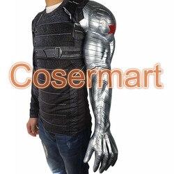 2016 Nieuwe Winter Soldier Arm Captain America 3 Bucky Barnes Arm Armour Cosplay Avengers Hoge Niveau Latex Man Hot Koop