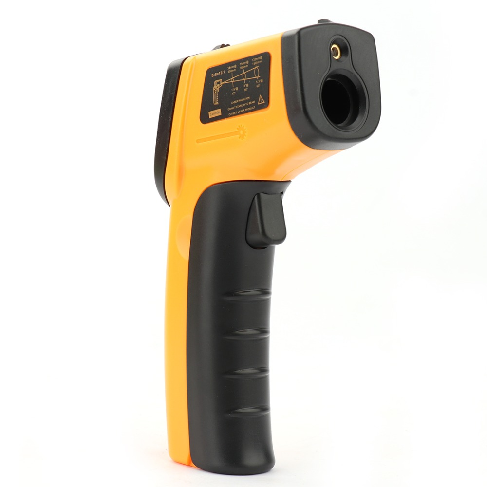 Xueliee Laser LCD Digital IR Infrared Thermometer Temperature Meter Gun Point -50~380 Degree Non-Contact Thermometer