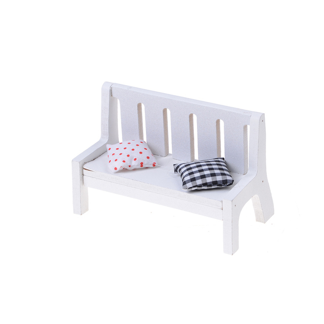 dollhouse outdoor furniture. Jetting Miniature Dollhouse Furniture Accessories Wooden Garden Chair Outdoor Park Bench Home Decoration N