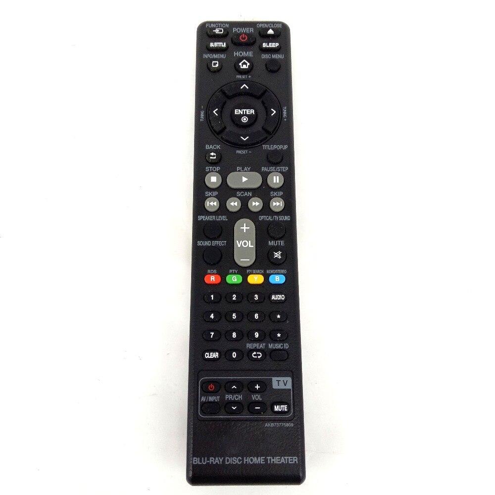 NEW Original For LG <font><b>Blu-Ray</b></font> <font><b>Disc</b></font> <font><b>home</b></font> thenter Remote control AKB73775809 for BH6230C BH6230S