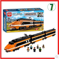 New lepin 21007 Horizon Express city train Toy building blocks 1351pcs builerds Creator 10233 gift boy orange Bricks sky train