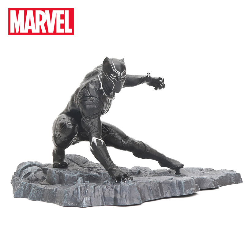 15cm Marvel Toys Avengers Infinity War Black Panther PVC Action Figure Diamond Select Toys Marvel Gallery Collectible Model Toys(China)