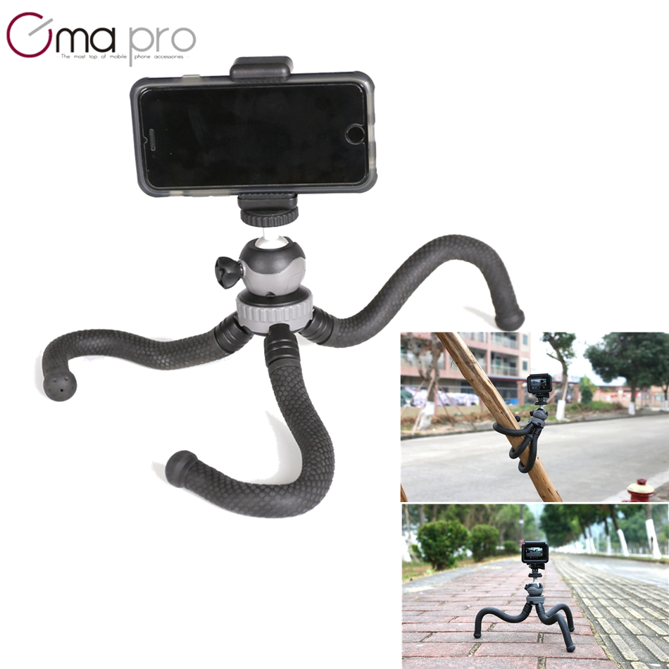 Cima pro RM-30 Travel Outdoor Mini Desktop Deformation Tripod Octopus Tripods flexible tripe For phone Digital Camera for GoPro