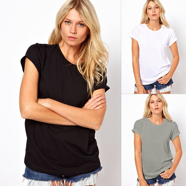 2019 New Summer Fashion Casual Women T Shirt 1