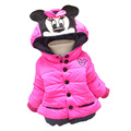 Baby girl brasão & jacket crianças casacos de algodão casacos de inverno com capuz jaqueta de inverno crianças casaco de inverno meninas das crianças clothing