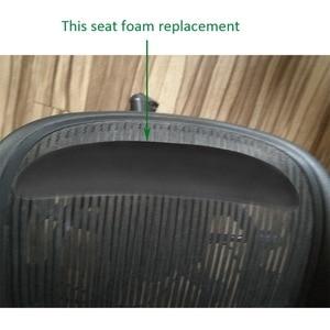 Image 4 - 2 PCS Memory Foam Home Office Gamer Silla Swivel Ergonomic Chair Pads Seat Cushion Gamepad For Aeron Chairs Accessories