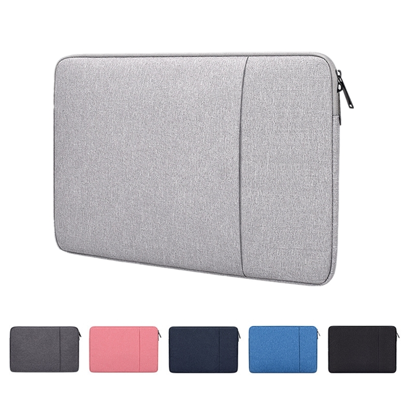 Laptop Sleeve Bag with Pocket for MacBook Air Pro Ratina 11.6/13.3/15.6 inch 11/12/13/14/15 inch Notebook Case Cover for Dell HP image
