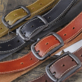 Genuine Leather Luxury Belt Men Jeans Belt Cowhide Vintage Waist Belt Buckle Male Belt Ceinture Homme Cinturones Strap MBT0369
