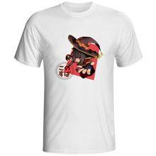 Powerful Magician Megumin T-shirt Konosuba Kono Suba Hip Hop Design Skate T Shirt Pop Casual Brand Women Men Top