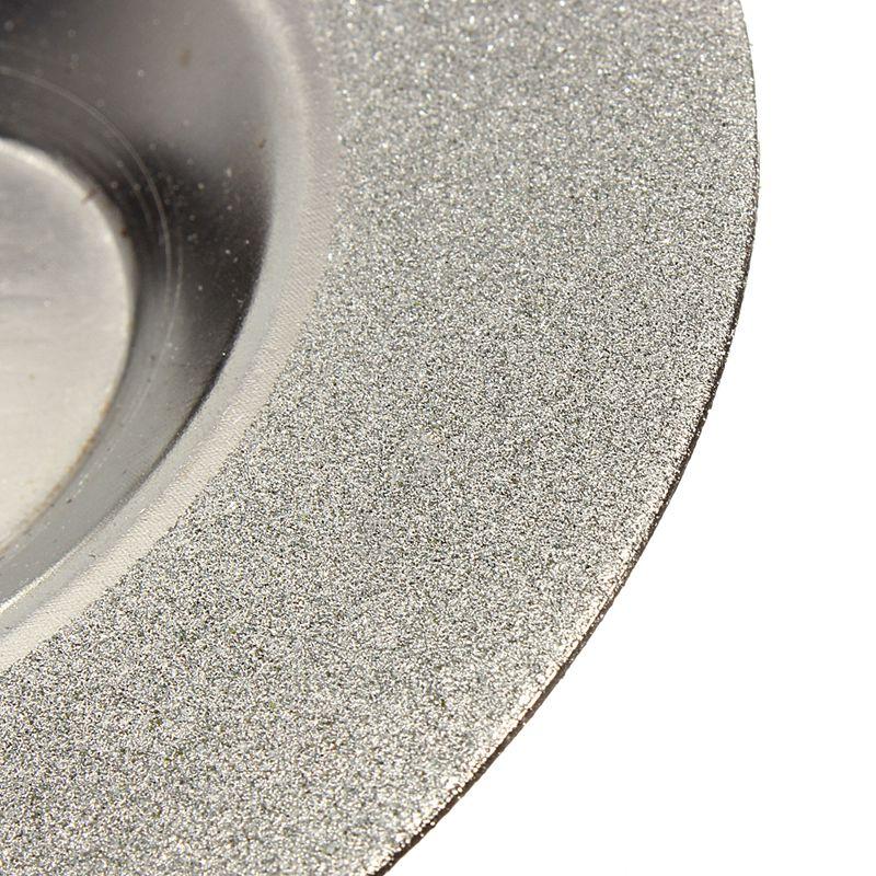 100mm 4 inch Diamant gecoate Slijpen Polijsten Slijpschijf Zaagblad - Schurende gereedschappen - Foto 5