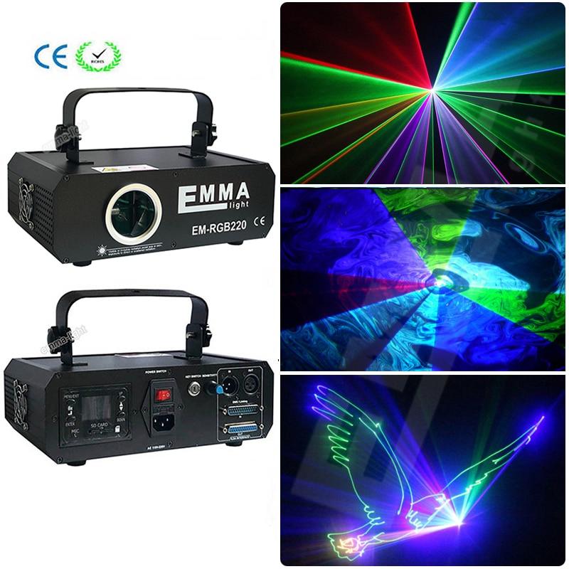 US $220 0 |RGB Animation dj Stage Laser Light 500mW disco dm laser  Projector, 500 rgb multi color LASER Show ilda 25kpps Disco Lighting-in  Stage