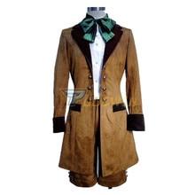 купить Kuroshitsuji Black Butler Ciel Phantomhive Cosplay Costume Brown Color Full Set по цене 3803.66 рублей