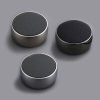 New Luxury Portable Mini Handsfree Super Bass Wireless Stereo Aluminum alloy Bluetooth Speaker With Micro SD Card Slot