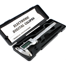 Best price 1 PC 150 mm/6-inch hardened Stainless Steel Electronic Digital Vernier Caliper Micrometer With Box