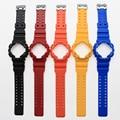 Новое поступление природного цвета водонепроницаемый силиконовый браслет каучуковый ремешок и корпус часов для CasioGA-100/GA-300/GA-110/GA-120/G-8900
