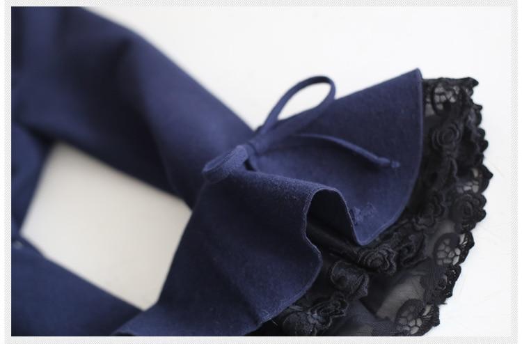 2019 primavera nuevo vestido de estilo literatura baile largo volando mariposa hecha a mano ajustado retro vestido de lana wj343 envío gratis - 5