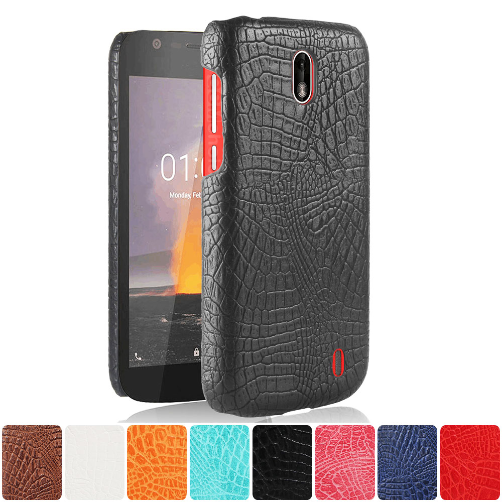 Leather Case for Nokia 1 TA 1066 TA 1047 TA 1079 Phone Bumper Fitted Case for