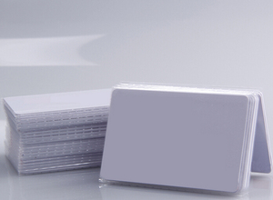 Image 1 - (100 pcs/lot) 13.56Mhz RFID F08 1K Cards Waterproof PVC Proximity NFC Smart Card for Access Control