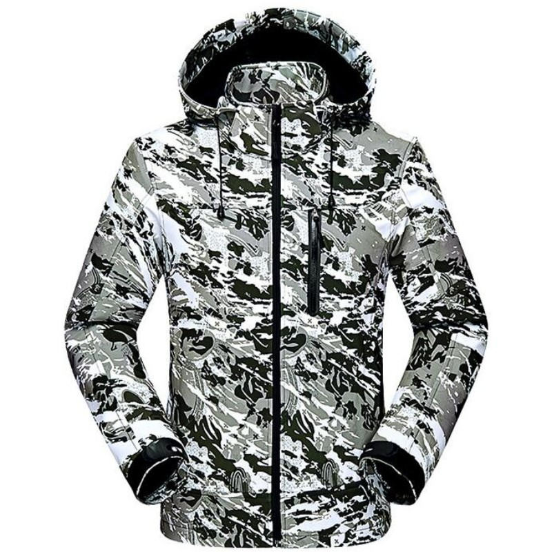 Brand New Winter Ski Jackets Suit Men Outdoor Thermal Waterproof Snowboard Jackets Climbing Snow Skiing Clothes Camouflage Coats 2017 hot sale gsou snow high quality womens skiing coats 10k waterproof snowboard clothes winter snow jackets outdoor costume