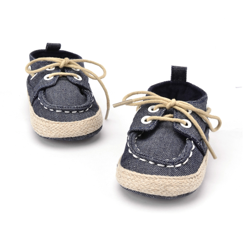 Spring Autumn Toddler First Walker Baby Shoes Boy Girl Soft Sole Crib Laces Sneaker Prewalker Sapatos Lace-up Kawaii Shoes