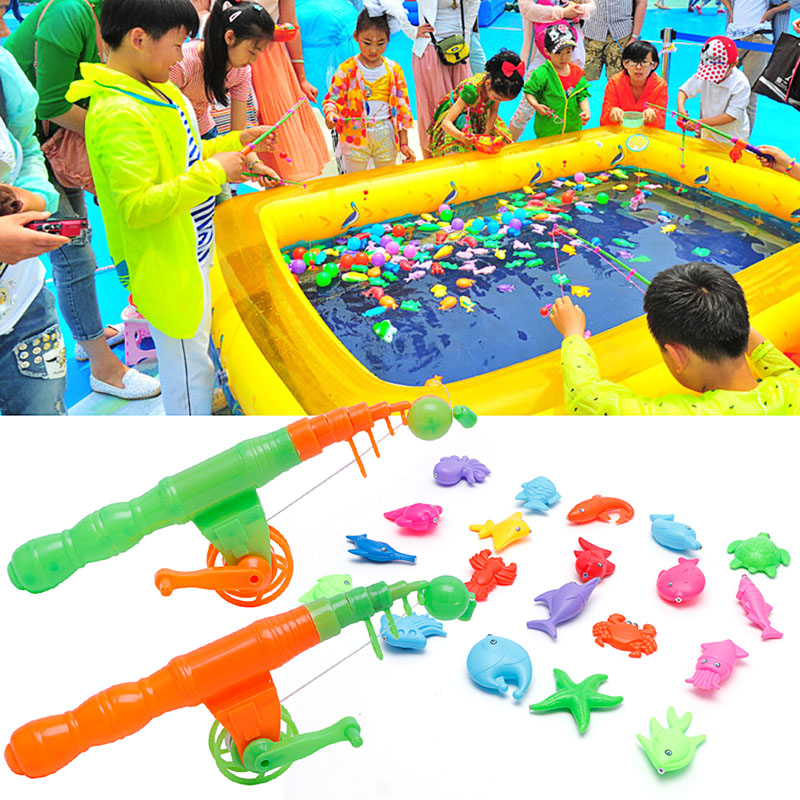 Toy Fishing-Rod Educational Hot-Selling Magnetic Child Fun Baby Game-Gift Kids