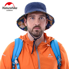 NatureHike, унисекс, камуфляжная шляпа, уличная, для пеших прогулок, для спорта и рыбалки, летняя, Солнцезащитная шляпа для мужчин и женщин, шапки
