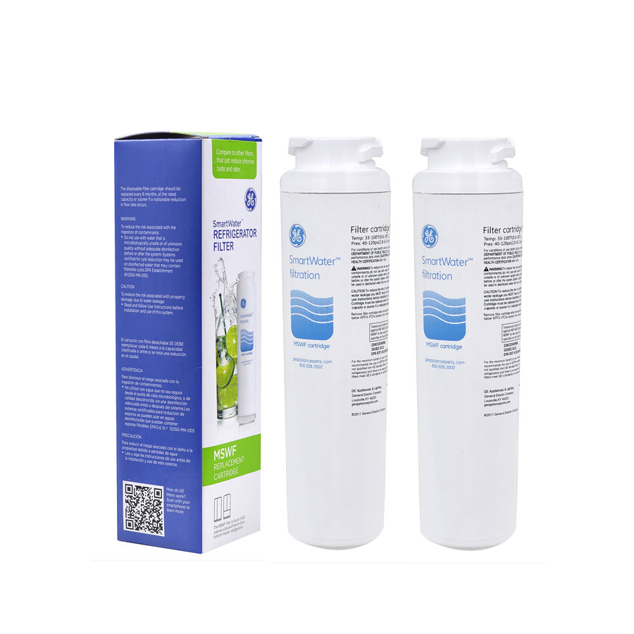 Household Hot Sale! <font><b>Water</b></font> Purifier General Electric MSWF <font><b>Refrigerator</b></font> <font><b>Water</b></font> <font><b>Filter</b></font> Cartridge Replacement for GE MSWF 2 Pcs/lot