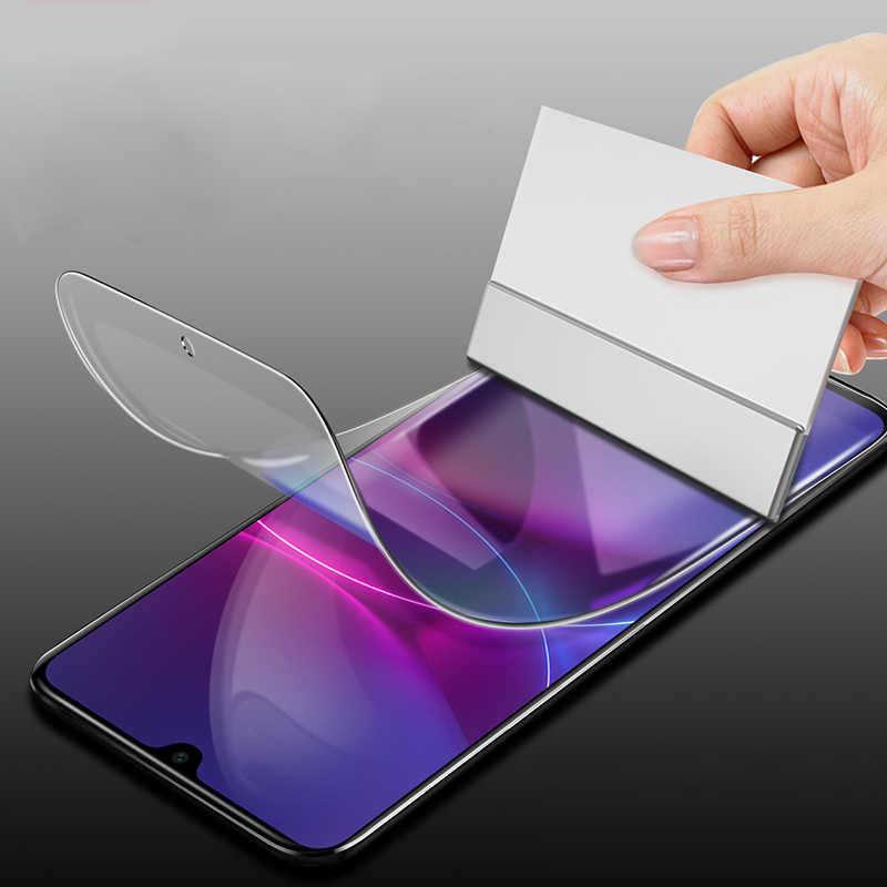 Película de hidrogel suave cubierta frontal transparente Ultra fina para Huawei Mate S 8 RS Maimang 4 5 6 7 Honor 10 Lite jugar 7 6A película