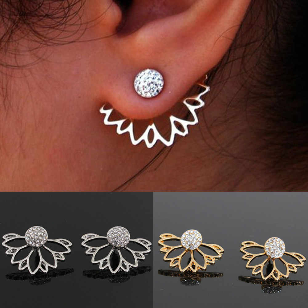 Fashion Alloy Earrings for women lady girl Ear Ring Combination Of Fashion Simple Earrings Woman pendientes mujer