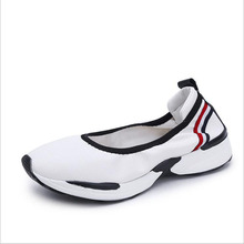 New 2019 summer & autumn Women sneakers height increasing casual shoes comfortable sport women flats