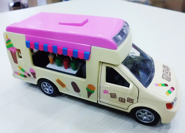 etl children especially love the pink ice cream alloy car models car sound and light alloy pull back car