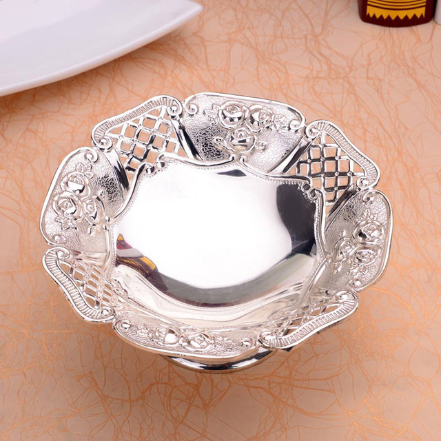 Silver Plated Fruit Plate