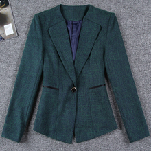 TANGNEST Spring Fashion Plus Size Slim Blazer 2017 NEW Basic Solid Costume Office Female Formal Jackets Ladies Work Suit WAT1078