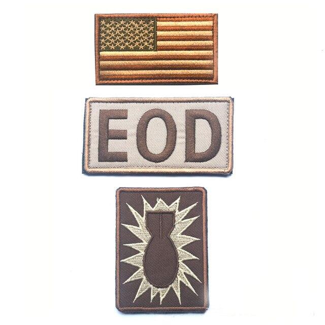 Online Shop 1 Set Eod Explosive Ordinance Disposal Patches Hook