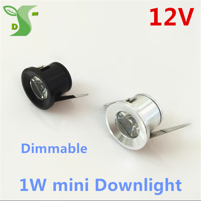 1W Mini <font><b>LED</b></font> Star light spots light DC <font><b>12V</b></font> Dimmable <font><b>led</b></font> <font><b>downlight</b></font> keuken light cabinet light with driver free shipping image