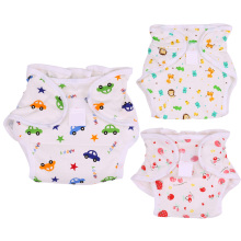 Printed Baby Diapers Breathable Cotton Infant Cloth Diaper Baby Pants Nappy Changing Cover Wrap