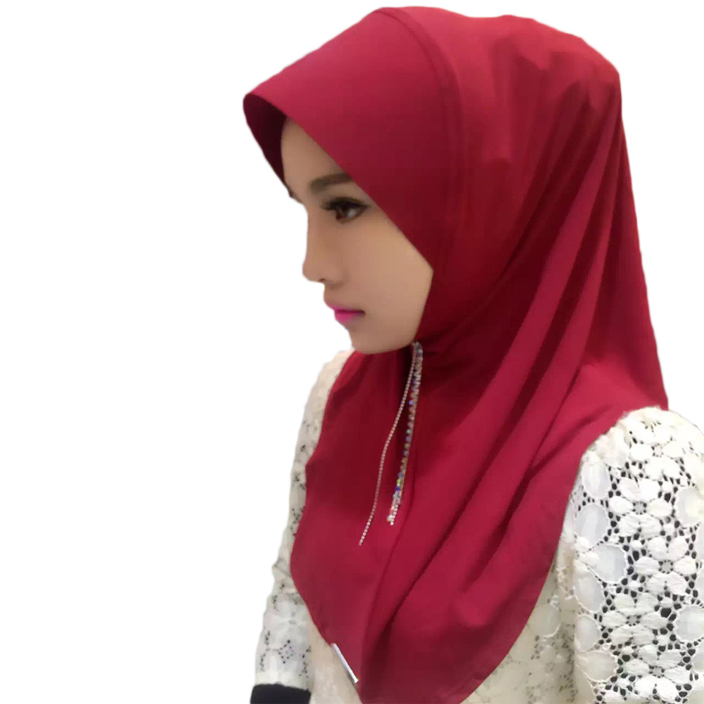 2017 Fashion New Arrival!Muslim Islamic hijab headscarf mini for women and girls 170*85CM crystal ramie cotton pick 11 colors