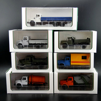 Special Offer 1:43 Soviet Union Russian trucks ZL Alloy truck model Collection Model