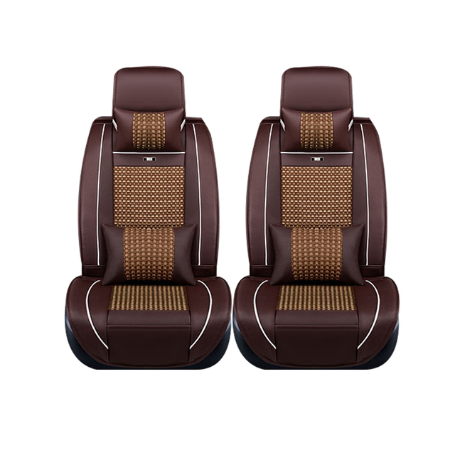 Special leather only 2 front car seat covers For Nissan All Models Qashqai Note Teana Tiida Almera X-trai auto accessories