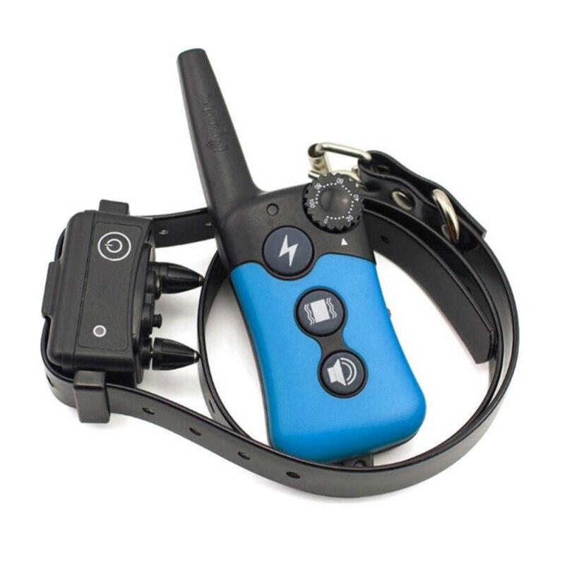 Collier de dressage électrique pour chien, choc, Vibration, commande de mots, dispositif de dressage pour chien, télécommande, étanche, 500 M