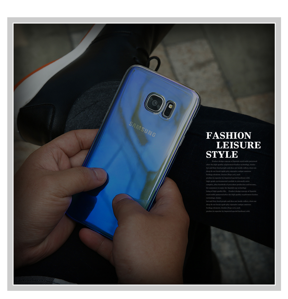 Lilla või sinine ümbris Samsungile